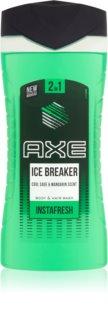 Axe Ice Breaker gel de duche e champô 2 em 1