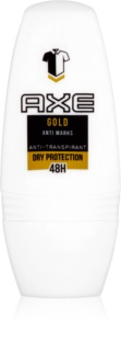 Axe Gold deodorant roll-on para homens 50 ml