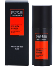 Axe Adrenaline Iced Musk and Ginger Körperspray für Herren 100 ml