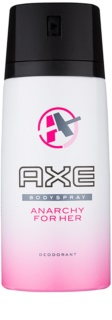 Axe Anarchy For Her Deo Spray voor Vrouwen  150 ml