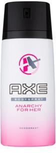 Axe Anarchy For Her deodorant Spray para mulheres 150 ml
