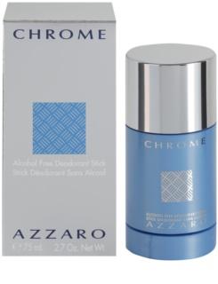Azzaro Chrome Deodorant Stick voor Mannen 75 ml