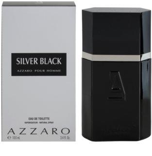 Azzaro Silver Black Eau de Toilette voor Mannen 100 ml
