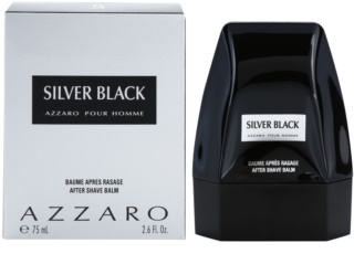 Azzaro Silver Black Aftershave Balsem  voor Mannen 75 ml