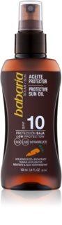 Babaria Sun Protective olej na opalování SPF 10