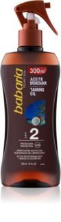 Babaria Sun Bronceadora hydratační olej pro podporu opálení