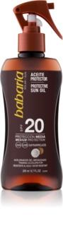 Babaria Sun Protective olejek do opalania SPF 20
