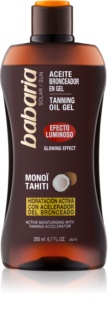 Babaria Sun Bronceadora gel iluminador para promover el bronceado