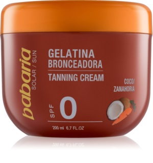 Babaria Sun Bronceadora Suntan Accelerating Gel With Coconut And Carrots