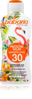 Babaria Tropical Sun Protective Sunscreen Lotion SPF 30
