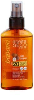 Babaria Sun Aceite Solar huile sèche solaire SPF 20