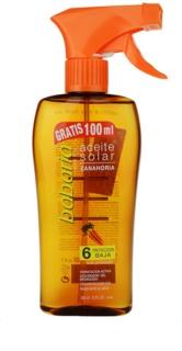 Babaria Sun Aceite Solar huile solaire SPF 6