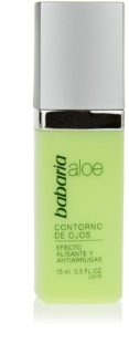 Babaria Aloe Vera crema para contorno de ojos con efecto lifting con aloe vera