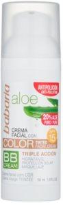 Babaria Aloe Vera crema BB  con aloe vera