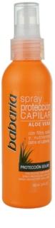 Babaria Aloe Vera Schützender Spray für von der Sonne überanstrengtes Haar
