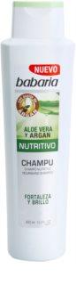 Babaria Aloe Vera shampoing nourrissant à l'aloe vera