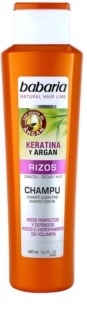 Babaria Argan Shampoo For Curly Hair With Keratin And Argan Oil
