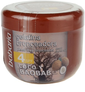 Babaria Sun Bronceador Toning Gel With Coconut SPF 4