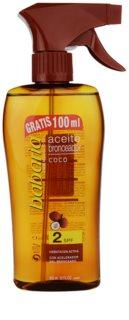 Babaria Sun Bronceador Öl-Spray für Bräunung SPF 2