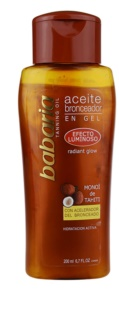 Babaria Sun Bronceador Glitzeröl für markantere Bräune