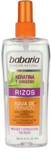 Babaria Ginseng spray stylizujący do włosów kręconych