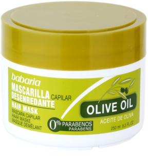 Babaria Olive odżywcza maska do włosów z olejem z oliwek