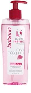 Babaria Rosa Mosqueta ženski gel za prhanje za intimno higieno z izvlečki divje vrtnice