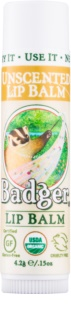 Badger Classic Unscented bálsamo labial
