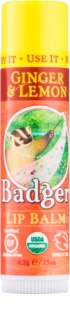 Badger Classic Ginger & Lemon balsam do ust