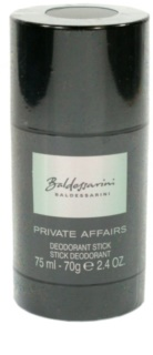 Baldessarini Private Affairs Deodorant Stick voor Mannen 75 ml
