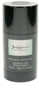 Baldessarini Private Affairs Deodorant Stick for Men 75 ml