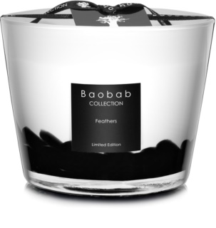 Baobab Feathers Scented Candle 10 cm