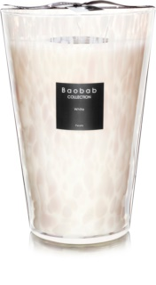 Baobab White Pearls Scented Candle 35 cm