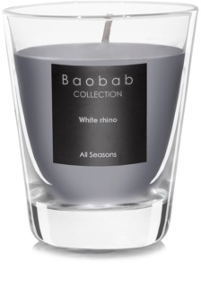 Baobab White Rhino Scented Candle 6,5 cm (votive)