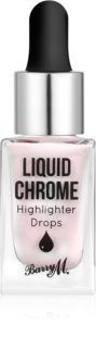 Barry M Liquid Chrome enlumineur liquide en gouttes