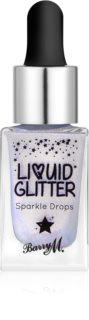 Barry M Liquid Glitter glitter para cuerpo y rostro