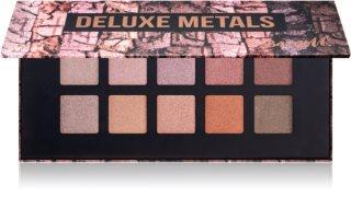 Barry M Deluxe Metals paletka očních stínů se zrcátkem