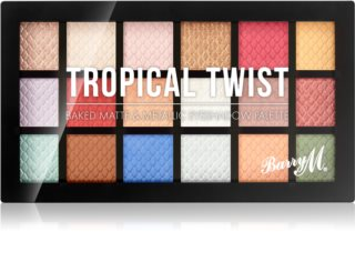 Barry M Tropical Twist Eyeshadow Palette