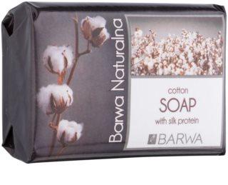 Barwa Natural Cotton mydło w kostce o działaniu regenerującym