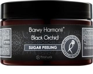 Barwa Harmony Black Orchid peeling cukrowy o działaniu odmładzającym