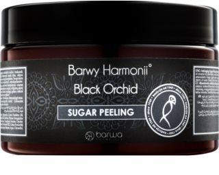 Barwa Harmony Black Orchid cukrový peeling s omladzujúcim účinkom
