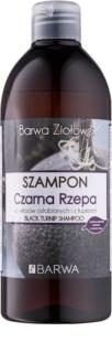 Barwa Herbal Black Turnip champô anticaspa para cabelo enfraquecido