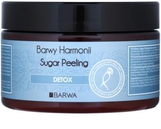 Barwa Harmony Detox peeling cukrowy z czyszczącym i ochronnym efektem