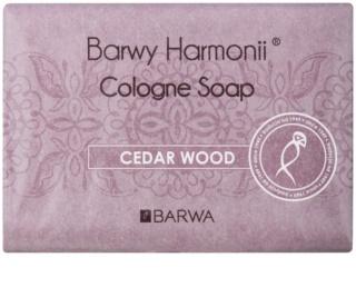 Barwa Harmony Cedar Wood tuhé mydlo s hydratačným účinkom