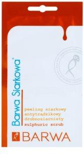 Barwa Sulphur jemný peeling pro stažení pórů