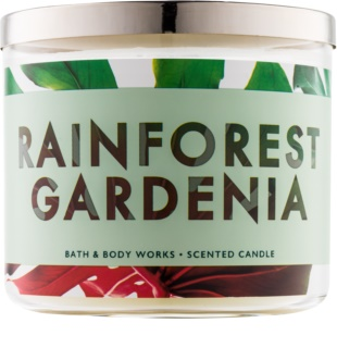Bath & Body Works Rainforest Gardenia vela perfumado 411 g