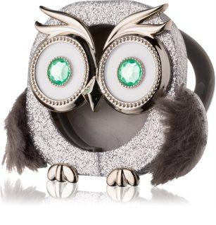 Bath & Body Works Sparkly Owl uchwyt zapachowy do samochodu   brelok