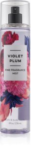 Bath & Body Works Violet Plum spray corporal para mujer 236 ml
