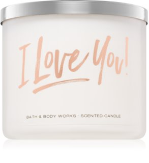 Bath & Body Works Bourbon Sea Salt Caramel ароматна свещ  411 гр.
