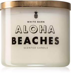 Bath & Body Works Mahagony Coconut duftkerze  (Aloha Beaches)